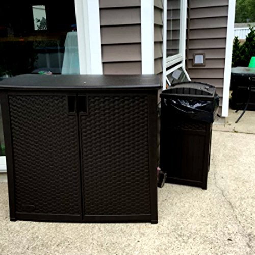 Outdoor-Patio-Deck-Box-All-Weather-Large-Storage-Cabinet-Container-Brown-97-Gallon-Resin-Cabinet-E-Book-0-0