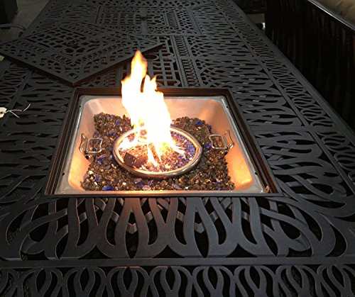 Outdoor-Propane-Fire-Pit-Bar-Height-Double-Burner-Table-Elisabeth-Cast-Aluminum-Patio-Furniture-0