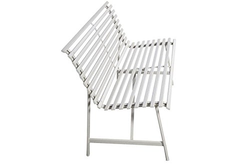 Outdoor-Warm-Gray-Garden-Steel-Bench-Backyard-Slat-Back-Seat-Furniture-Lawn-eBook-0-1