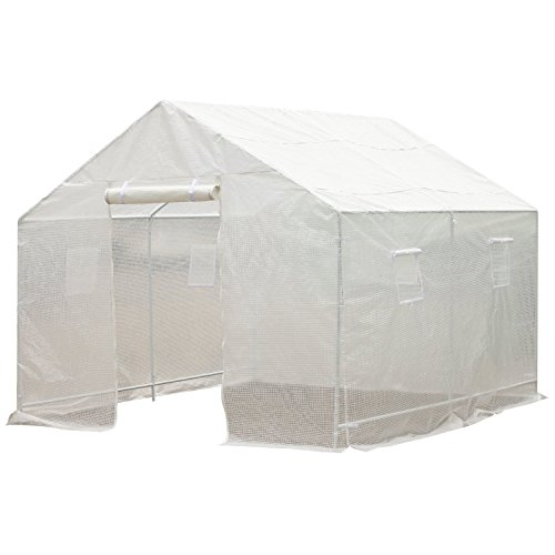 Outsunny-10-x-95-x-8-Ventilated-Portable-Walk-in-Greenhouse-with-PE-Cover-0