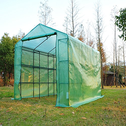 Outsunny-8-x-6-x-7-Outdoor-Portable-Walk-in-Greenhouse-0-0