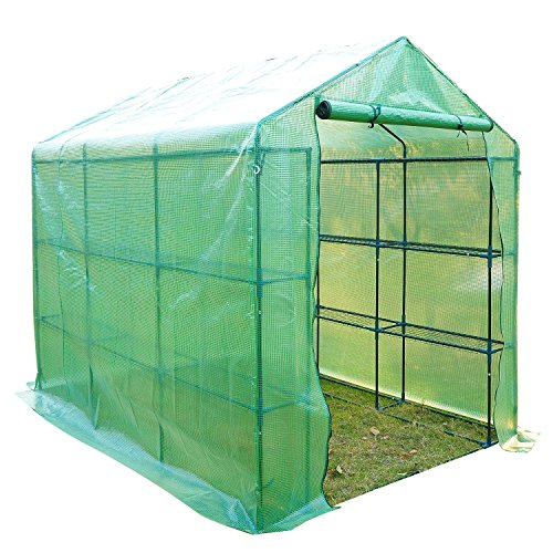 Outsunny-8-x-6-x-7-Outdoor-Portable-Walk-in-Greenhouse-0