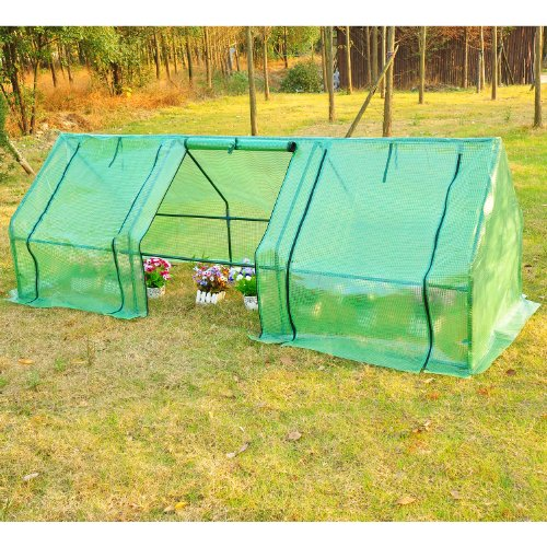 Outsunny-9L-x-3W-x-3H-Portable-Flower-Garden-Greenhouse-0-0