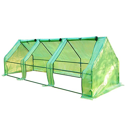 Outsunny-9L-x-3W-x-3H-Portable-Flower-Garden-Greenhouse-0