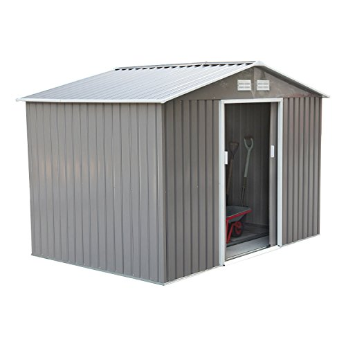 Outsunny-Outdoor-Metal-Garden-Storage-Shed-0