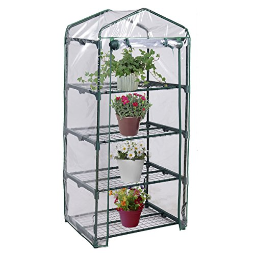 PROSPERLY-US-Product-4-Shelves-Green-house-Portable-Mini-Outdoor-Green-House-Brand-New-Garden-0-0
