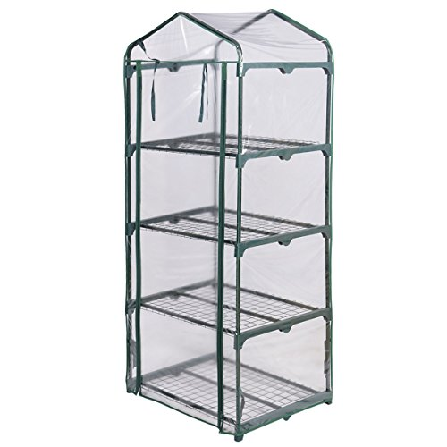 PROSPERLY-US-Product-4-Shelves-Green-house-Portable-Mini-Outdoor-Green-House-Brand-New-Garden-0-1