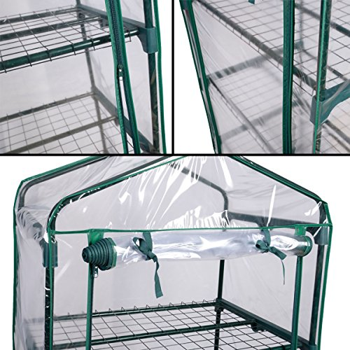 PROSPERLY-US-Product-4-Shelves-Green-house-Portable-Mini-Outdoor-Green-House-Brand-New-Garden-0-2