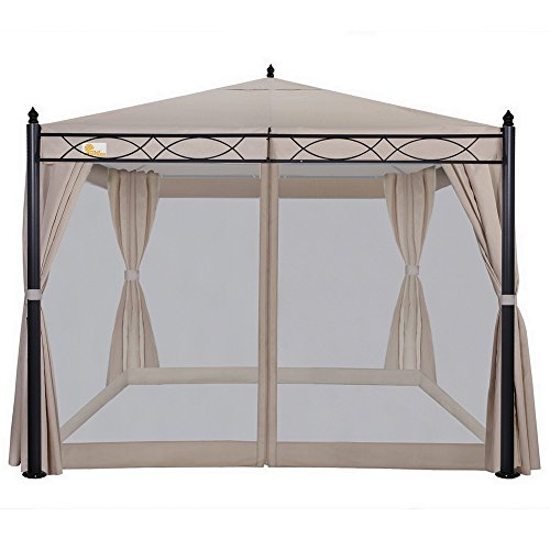 Palm-Springs-10ft-x-10ft-Deluxe-Patio-Canopy-with-Mosquito-Mesh-Sides-0-0