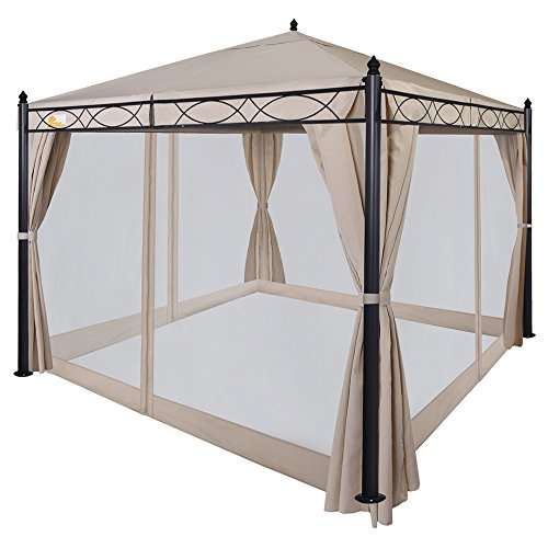 Palm-Springs-10ft-x-10ft-Deluxe-Patio-Canopy-with-Mosquito-Mesh-Sides-0