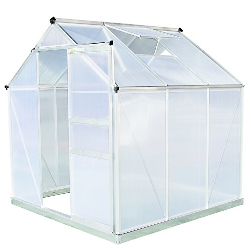 Palm-Springs-6ft-x-6ft-Aluminum-Walk-in-Greenhouse-with-polycarbonate-panels-0-1