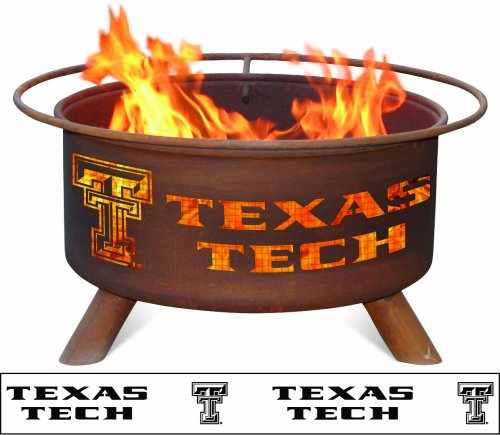 Patina-Products-F233-30-Inch-Texas-Tech-Fire-Pit-0