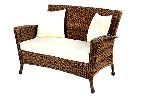 Patio-Furniture-Loveseat-Wicker-Rustic-Outdoor-Light-Brown-Rattan-Lounger-Garden-Conversation-Set-Skroutz-Deals-0