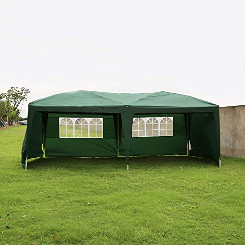 Peach-Tree-Canopy-Wedding-Party-Tent-Heavy-Duty-Outdoor-Gazebo-Green-10x204walls-0-0