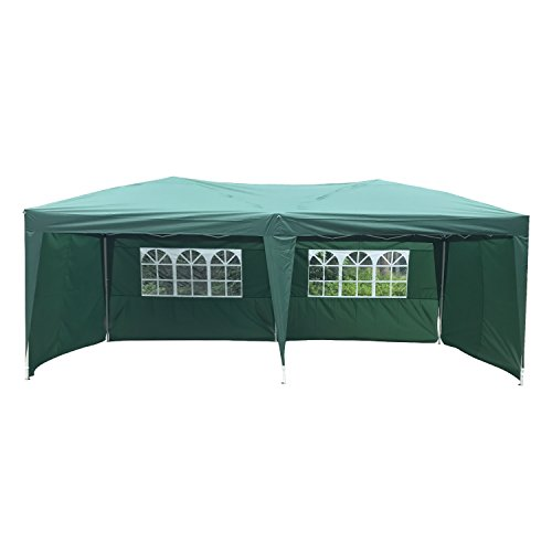 Peach-Tree-Canopy-Wedding-Party-Tent-Heavy-Duty-Outdoor-Gazebo-Green-10x204walls-0