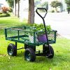 Peach-Tree-Garden-Cart-Utility-Yard-Wagon-with-Removable-Sides-with-a-Capacity-of-650-lb-Green-0-0