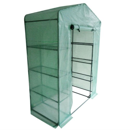 Peaktop-Portable-Mini-Greenhouse-Walk-in-Grow-Garden-Plant-Growing-Green-House-Small-Hot-Tent-4-Tiers-6-Shelves-78x56x30-Steel-Framework-with-Cover-0-1