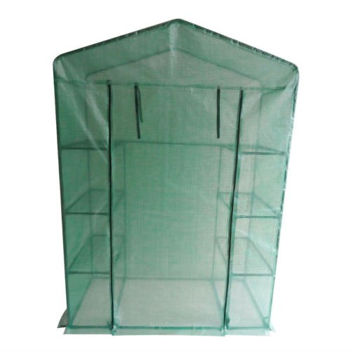 Peaktop-Portable-Mini-Greenhouse-Walk-in-Grow-Garden-Plant-Growing-Green-House-Small-Hot-Tent-4-Tiers-6-Shelves-78x56x30-Steel-Framework-with-Cover-0-2