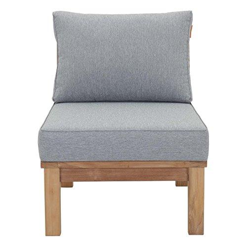Pier-Armless-Outdoor-Patio-Teak-Sofa-Outdoor-Patio-Sofa-Rattan-Wicker-Garden-Vidaxl-Set-Furniture-Lounge-Svitlife-0-2