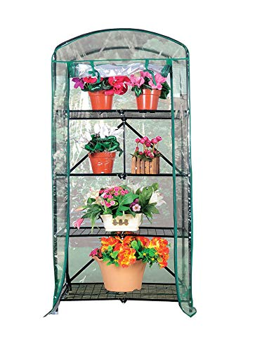 PierSurplus-Foldable-23-ft-W-x-525-ft-H-4-Tier-Greenhouse-with-Transparent-PVC-Cover-Product-SKU-GH070434-0
