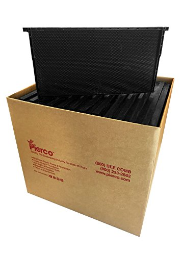 Pierco-Inc-9-Deep-Plastic-Frames-DOUBLE-Waxed-52-pack-Black-0-0