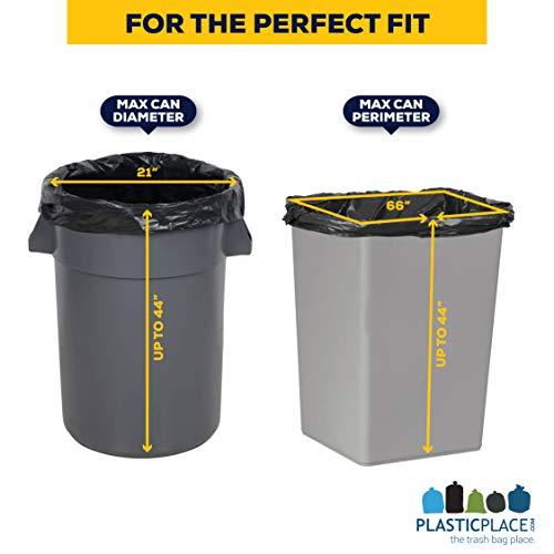 PlasticPlace-42-Gallon-Contractor-Bags-40-Mil-33W-x-48H-Black-50-case-0-2