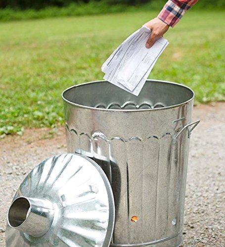 Plow-Hearth-Galvanized-Metal-Garden-Incinerator-Can-0-0