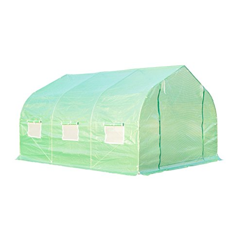 Portable-Greenhouse-12-x-10-x-7-Walk-In-Flowers-Plant-Outdoor-Garden-Green-With-Ebook-0-1