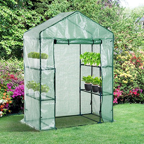 Portable-Greenhouse-Walk-In-Green-House-Outdoor-Year-Around-Plant-Gardening-56-x-30-x-78-0