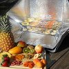 Portable-Solar-Oven-Deluxe-with-Complete-Cookware-Dehydrating-Racks-and-Thermometer-0-1