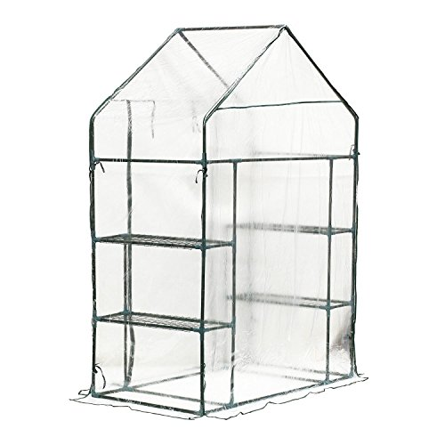 Portable-Walk-In-Greenhouse-Clear-PE-Cover-Plant-Flower-Outdoor-Garden-With-Ebook-0