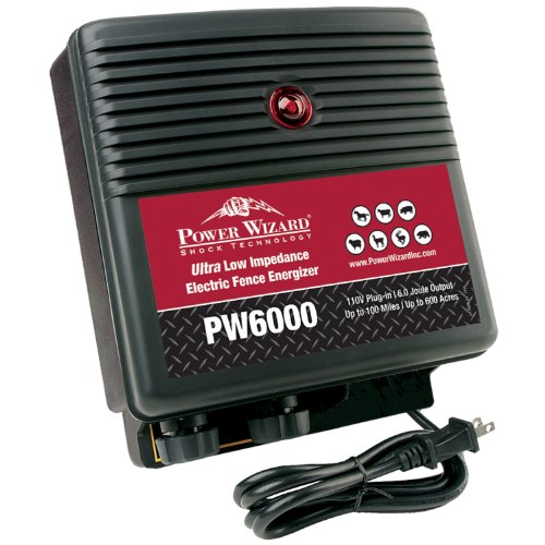 Power-Wizard-PW6000-ULTRA-Low-Impedance-100-Mile-Electric-Fence-Energizer-0