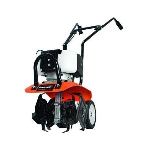 Powermate-Cultivator-Garden-Tiller-Flower-Bed-Weeder-Four-Tine-8-in-43-cc-2-Cycle-Gas-0