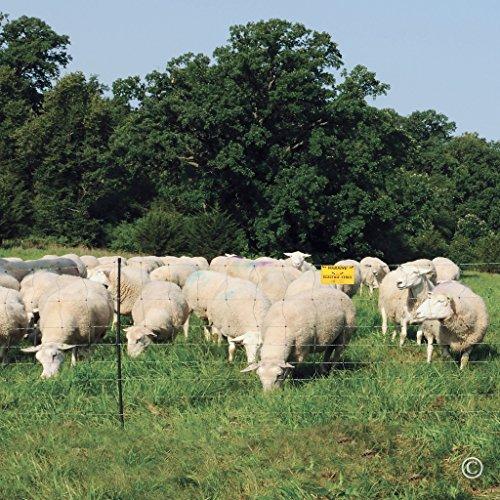 Premier-Enhanced-40-Electric-Sheep-Goat-Net-Fence-GreenBlack-9406EG-0-1