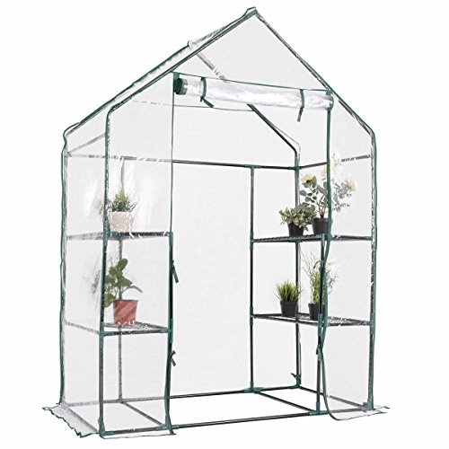 Produit-Royal-3-Tier-Walk-In-Transparent-Greenhouse-Plant-Flowers-Grow-Stand-Growing-Rack-Outdoor-4-Shelves-Portable-Planter-Holder-Green-House-Garden-0