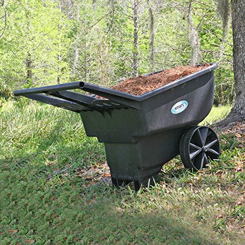Professional-house-Wheelbarrow-45-cu-ft-Durable-Garden-Yard-Dump-Cart-Mulch-Dirt-Rocks-Cleanup-0-0