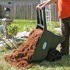 Professional-house-Wheelbarrow-45-cu-ft-Durable-Garden-Yard-Dump-Cart-Mulch-Dirt-Rocks-Cleanup-0-1