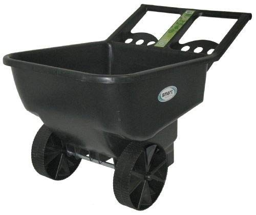Professional-house-Wheelbarrow-45-cu-ft-Durable-Garden-Yard-Dump-Cart-Mulch-Dirt-Rocks-Cleanup-0