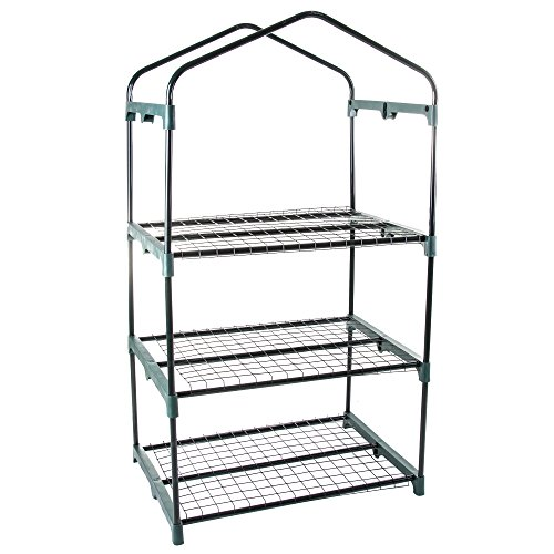 Pure-Garden-3-Tier-Mini-Greenhouse-with-Cover-275-x-19-x-50-inches-0-0