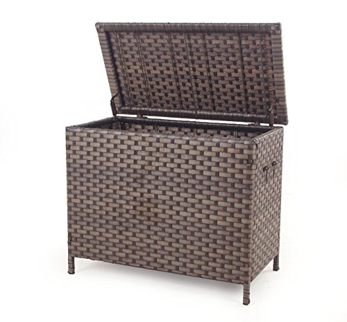 Quality-Outdoor-Living-Oversized-Storage-Trunk-Brown-0-0