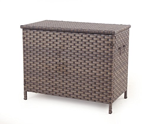 Quality-Outdoor-Living-Oversized-Storage-Trunk-Brown-0
