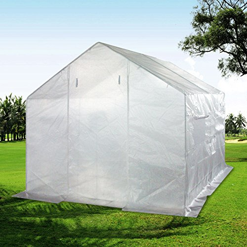 Quictent-2-Doors-12-Stakes-10-X-9-X-8-Portable-Greenhouse-Large-Walk-in-Green-Garden-Hot-House-0-2