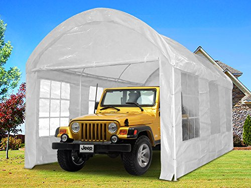 Quictent-20×10-Heavy-Duty-Portable-Carport-Canopy-Party-Tent-White-0