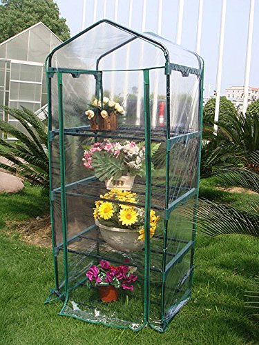 Quictent-Hot-4-tier-Mini-Portable-Green-Hot-Grow-Seeds-House-Indoor-Outdoor-wShelves-Greenhouse-0