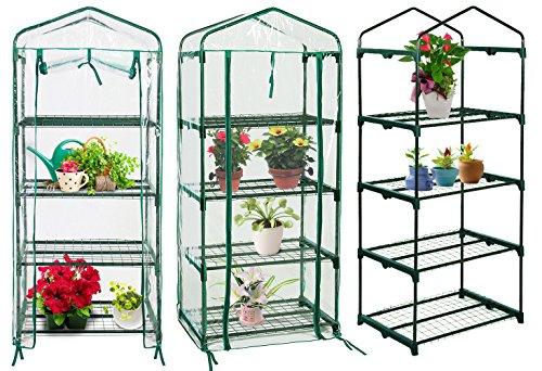 Quictent-Hot-4-tier-Mini-Portable-Green-Hot-Seeds-House-Indoor-Outdoor-wShelves-Greenhouse-0