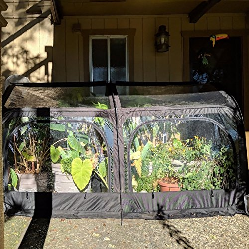Quictent-Pop-up-Greenhouse-Passed-SGS-Test-Eco-Friendly-Fiberglass-Poles-Overlong-Cover-Six-Stakes-98x49x53-Mini-Portable-Green-House-0-0