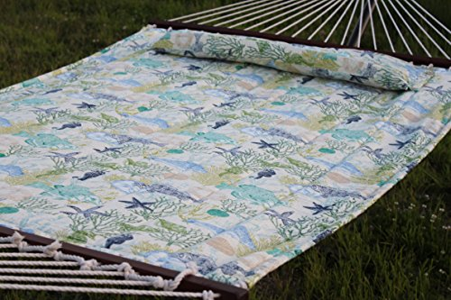 Quilted-Fabric-Hammock-with-Detachable-Pillow-Nautical-0