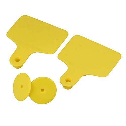RDEXP-Yelllow-60x74mm-Plastic-Large-Livestock-Ear-Tag-Cow-Cattle-Tag-Marker-Label-without-Number-Set-of-100-0-1