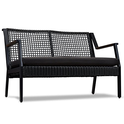 Real-Flame-Calvin-Aluminum-Patio-Loveseat-in-Black-0-1