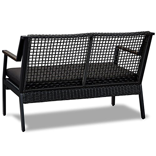 Real-Flame-Calvin-Aluminum-Patio-Loveseat-in-Black-0-2